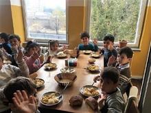 Աբովյանի N 5 հիմնական դպրոցում մեկնարկեց «Տաք սնունդ» ծրագիրը