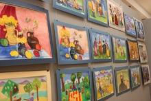 Կոտայքի մարզպետը ներկա է գտնվել «Աբովյանի գեղարվեստի դպրոցի» սաների ստեղծագործությունների ցուցահանդեսի բացմանը
