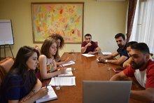 Հերթական աշխատանքային քննարկումը տեղի ունեցավ օգոստոսի 17-ին  կայանալիք «Իմ քայլը հանուն Կոտայքի մարզի»  ներդրումային համաժողովի կազմակերպչական աշխատանքների շուրջ