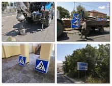 Երթևեկությունը կանոնակարգելու նպատակով Ակունքում ճանապարհային նշաններ են տեղադրվել