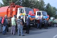 Պետական բյուջեի աջակցությամբ Աբովյան համայնքը ձեռք է բերել աղբատար մեքենաներ և աղբարկղեր