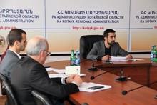 Աշխատանքային խորհրդակցության ընթացքում քննարկվել են ինքնակամ կառուցված շենք-շինությունների օրինականացման գործընթացները