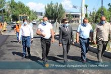 Աբովյանում մեկնարկել են համայնքի գլխավոր ճանապարհի՝ Հանրապետության պողոտայի կապիտալ հիմնանորոգման աշխատանքները